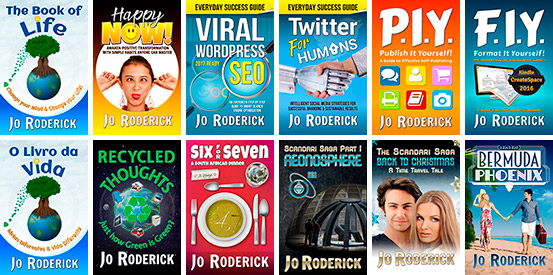 Click to view Books by Jo Roderick